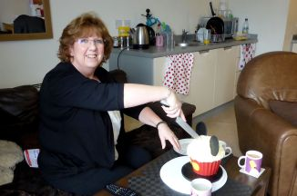 Look how happy my mum is :)