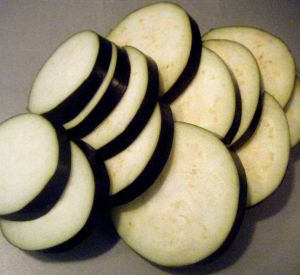 Edited - aubergine slices