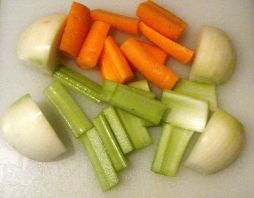Edited - chopped veg