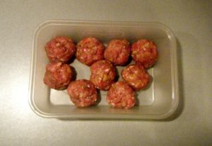Edited - meatballs