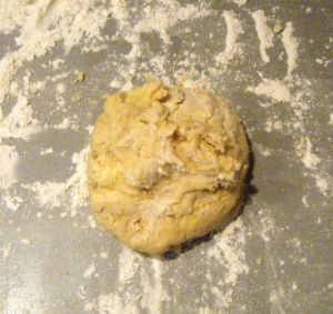 Edited - unworked dough